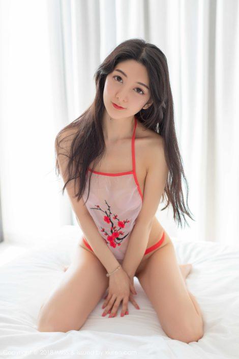 IMISS-Vol.285-Sexy Model-Xiao-Reba-with-Sleepwear