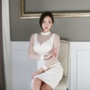 Park Da Hyun Model very cute with beautiful office dress - Part 2 - TruePic.net