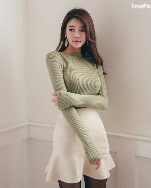 Park Jung Yoon Korean Model - Hot Body In Perfect Bodycon Dress - Truepic.Net