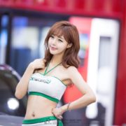 Seo Jin Ah - hot model in Korea - Seoul Auto Salon