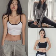 An Seo Rin Model - Korean Fashion Fitness Set - Jan.2018 -TruePic.net