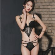 Hee-Model-Hot-Image-Korean-Fashion-Lingerie-Set-Jan.2018