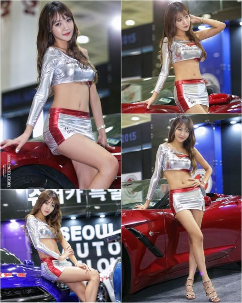 Jo In Young - Korean Racing model Seoul Auto Salon 2015 - TruePic.net