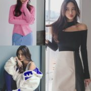 Kim Bo Ram model images - Korean Fashion Style - Jan.2018 #2