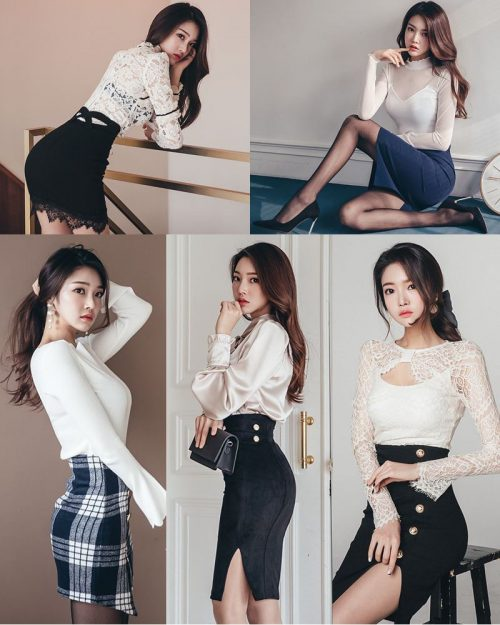 Park Jung Yoon - Korean Office Fashion Collection - Jan.2018 3