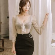 Park Soo Yeon Model - Bodycon Dress & Mini Skirt - Jan.2018