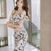 Park Soo Yeon Model - Bodycon Dress & Mini Skirt - Jan.2018