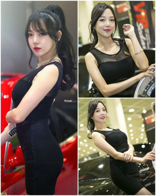 Shim Chae Won - Korean Racing model Seoul Auto Salon 2015 - Truepic.net