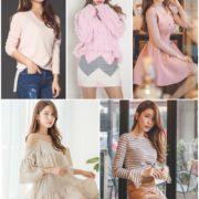 Sun Ji Won model so cute with Young Korean fashion style, TruePic.net