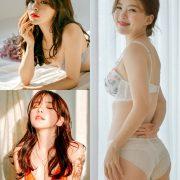 Haneul-Haneul Lookbook - 20191209 - 3 set Korean Lingerie photoshoot - TruePic.net