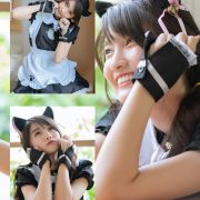 Thailand model - Yatawee Limsiripothong - The cute black cat - TruePic.net