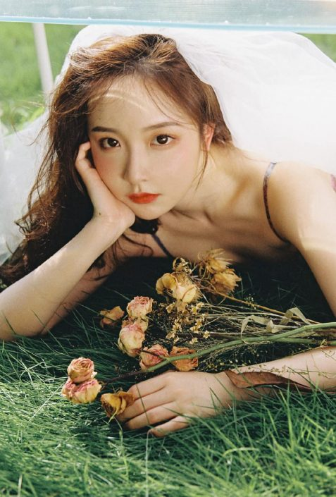 Gallery - Chinese model - Beautiful flowers and Bride - Photo by 金 大 柒 (2)