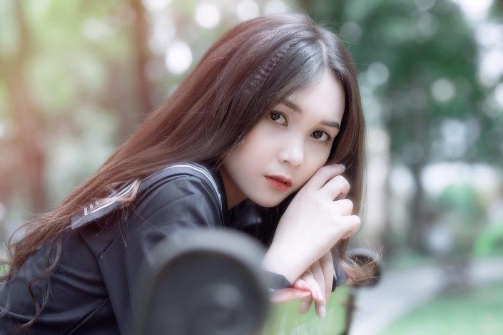 Gallery - Vietnamese cute model - Nguyen Yen Nhi - Cosplay Japanese School Girl Student (1)