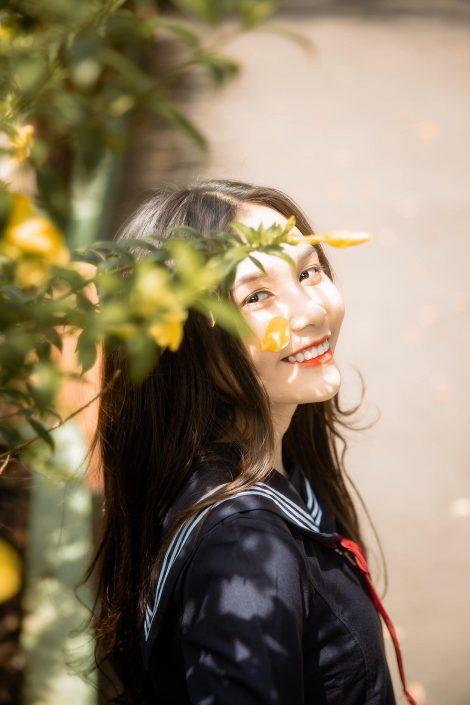 Gallery - Vietnamese cute model - Nguyen Yen Nhi - Cosplay Japanese School Girl Student (3)