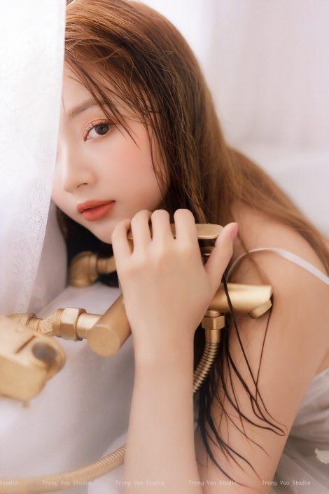 Gallery -Vietnamese model - Le Ly Lan Huong - Trong Veo Studio (2)