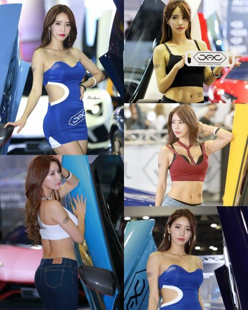 Korean Racing Model - Im Sola - Seoul Auto Salon 2019