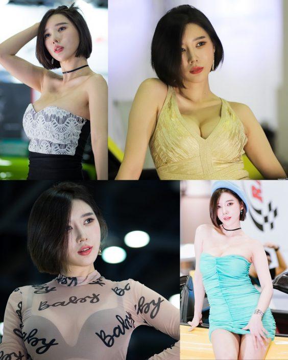 Korean Racing Model - Song Jooa - Seoul Auto Salon 2019