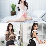 Korean hot model and fashion - Jin Yu Ri - Indoor Photoshoot Collection