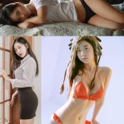 Korean hot model and fashion - Shin Jae Eun - Various Sets collection