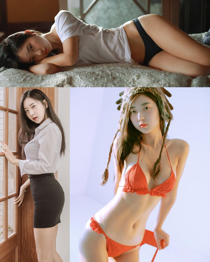Korean hot model and fashion - Shin Jae Eun - Various Sets collection