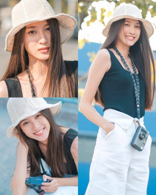 Thailand beauty model View Benyapa - One day practicing as a photographer