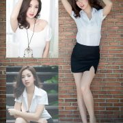 Thailand model - Yingaon Duangporn - Concept The Beautiful Office Girl