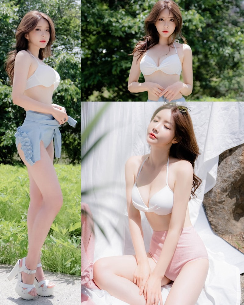 korean model and fashion - Yoo Gyeong - Bikini for hot summer holiday coming
