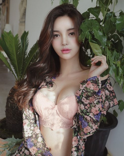 Jin Hee Korean Fashion Model - Love Me Lingerie Collection - TruePic.net
