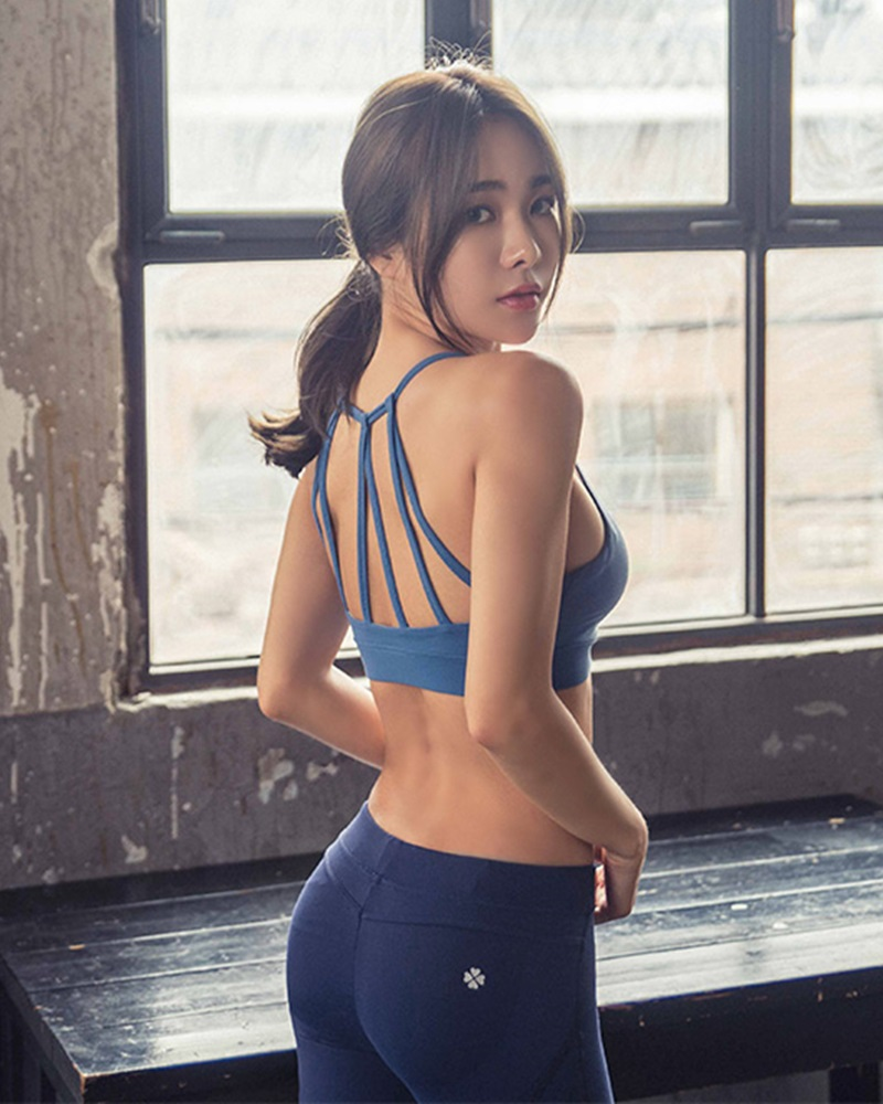 Korean Fashion Model - An Seo Rin - Active Fitnees Set Collection - TruePic.net