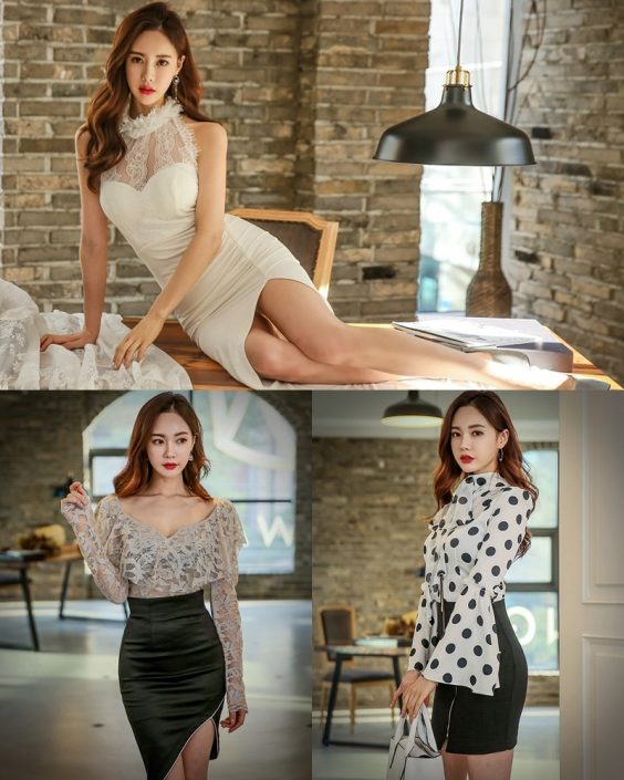 Korean Fashion Model - Hyemi - Indoor Photoshoot Collection - TruePic.net