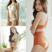 Korean Fashion Model - Jin Hee - Lovely Soft Lace Lingerie - TruePic.net