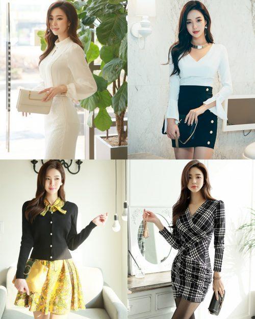 Korean Fashion Model - Park Da Hyun - Indoor Photoshoot Collection - TruePic.net