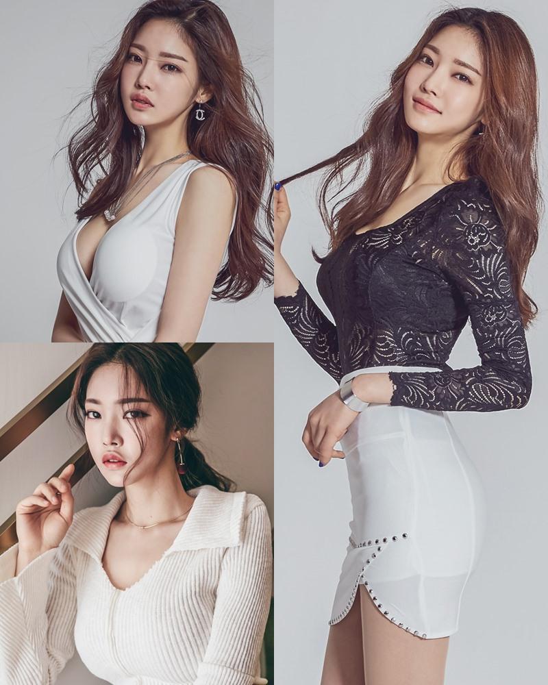 Korean Fashion Model - Park Jung Yoon - Indoor Photoshoot Collection - TruePic.net