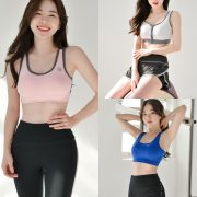 Korean Lingerie Queen - Haneul - Fitness Set Collection - TruePic.net