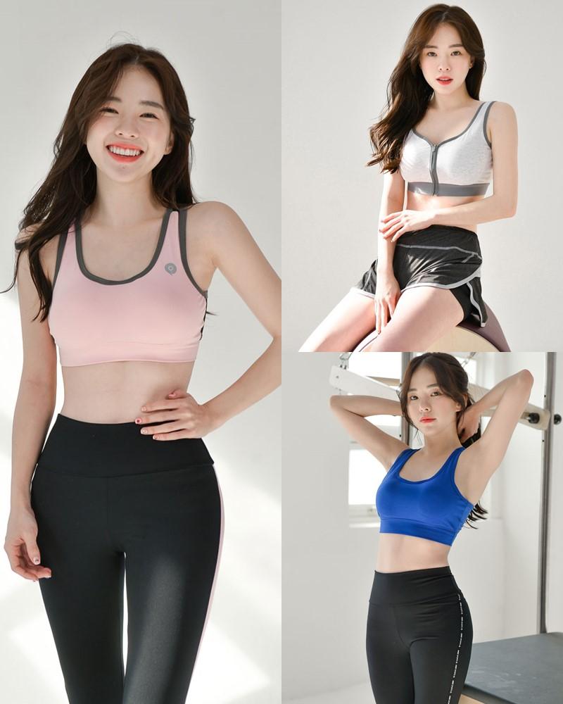 Korean Lingerie Queen - Haneul - Fitness Set Collection - TruePic.net
