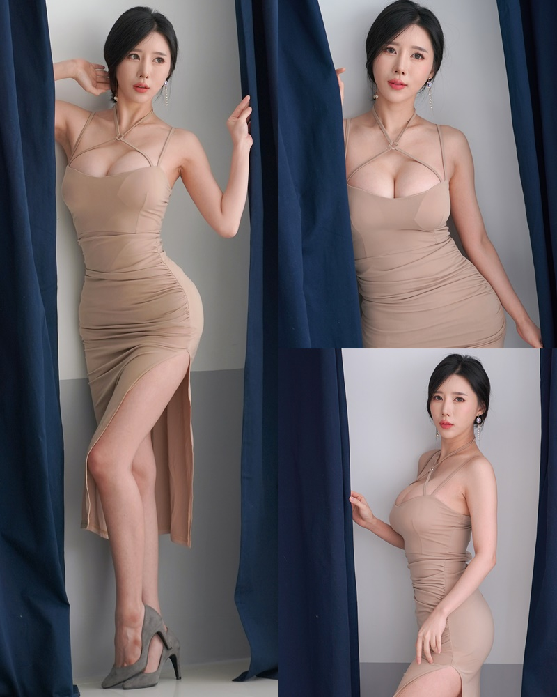 Korean racing queen - Song Ju Ah - Studio Photoshoot