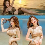 Park Jeong Yoon - Geullaemrouge Gold Bikini - Korean model and fashion