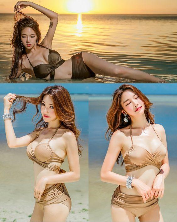 Park Jeong Yoon - Geullaemrouge Gold Bikini - Korean model and fashion