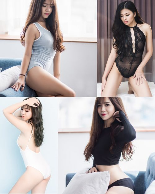 Super hot photos of Vietnamese beauties with lingerie and bikini – Photo by Le Blanc Studio – Part 6