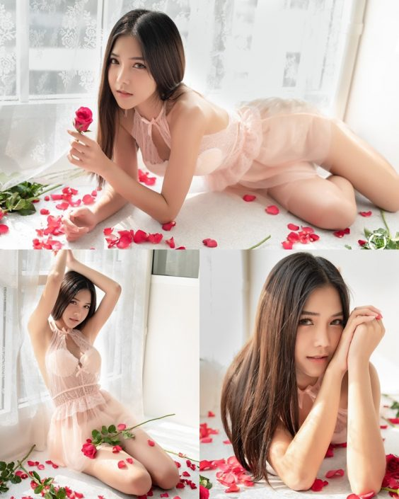 Thailand Model - Phitchamol Srijantanet - Roses for Lovers - TruePic.net