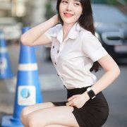 Thailand beautiful girl - Chonticha Chalimewong - Thai Girl Student uniform - TruePic.net