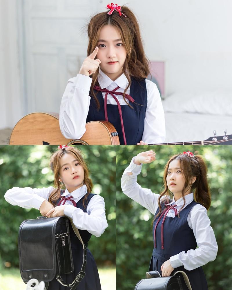 Thailand cute model Kamonravee Korsampan - Naughty little girl - Photo by จิตรทิวัส จั่นระยับ