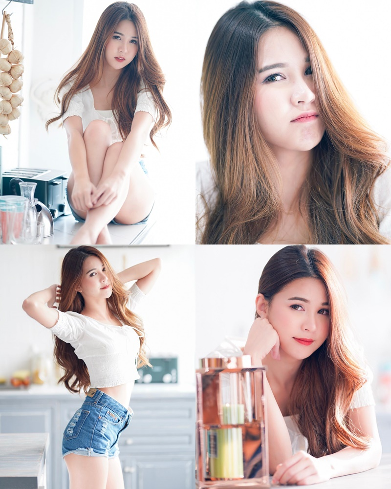 Thailand cute model Supansa Yoopradit (Lorpor) - Lovely smile girl