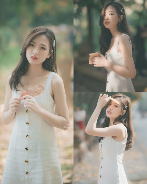 Vietnamese Hot Girl Linh Hoai - Season of falling leaves - TruePic.net