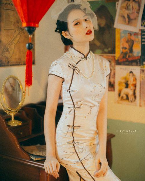 Vietnamese model Lan Huong - Lost in ShangHai - Photo by Killy Nguyen - TruePic.net