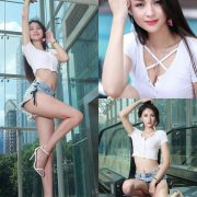 Image-Beautiful-Taiwanese-Girl-Lola-雪岑-Perfect-Long-Legs-Baby-TruePic.net