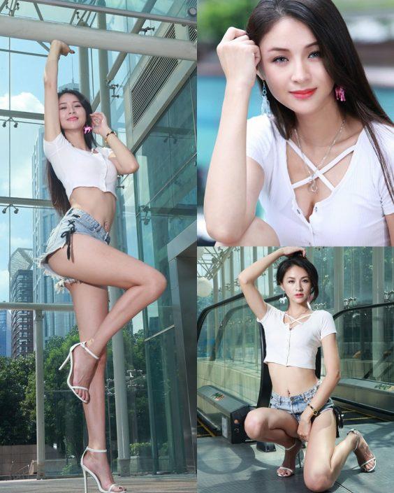 Image-Beautiful-Taiwanese-Girl-Lola-雪岑-Perfect-Long-Legs-Baby-TruePic.net