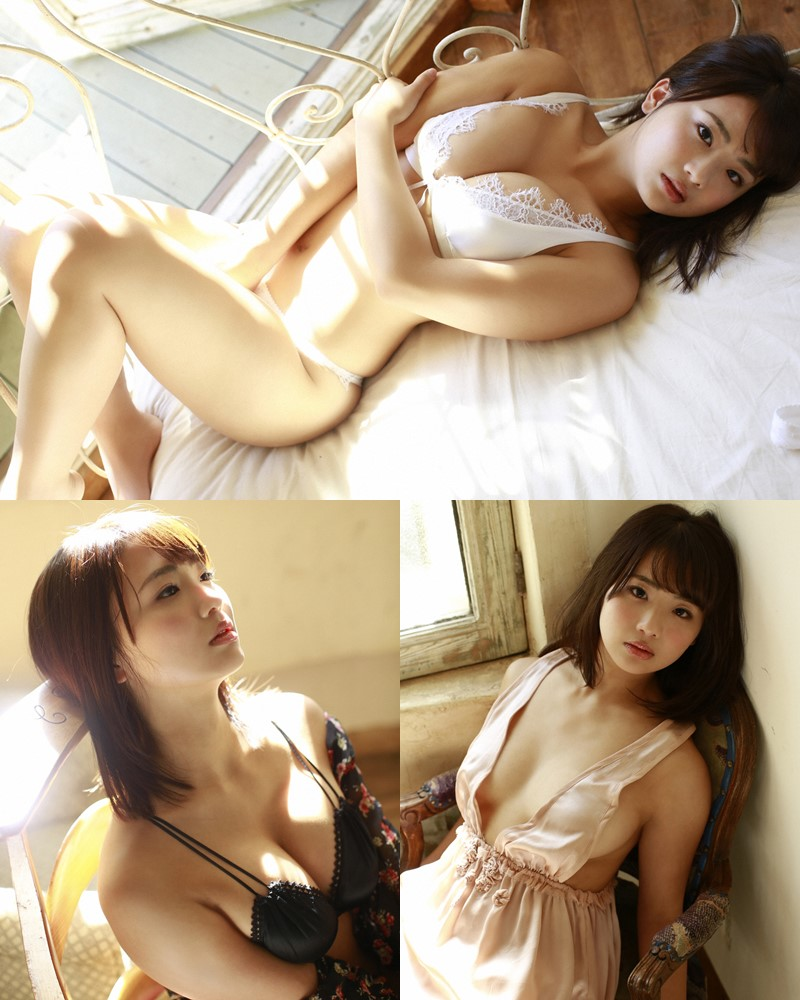 Image-Japanese-Actress-And-Model-Natsumi-Hirajima-Sexy-Lingerie-Queen-TruePic.net