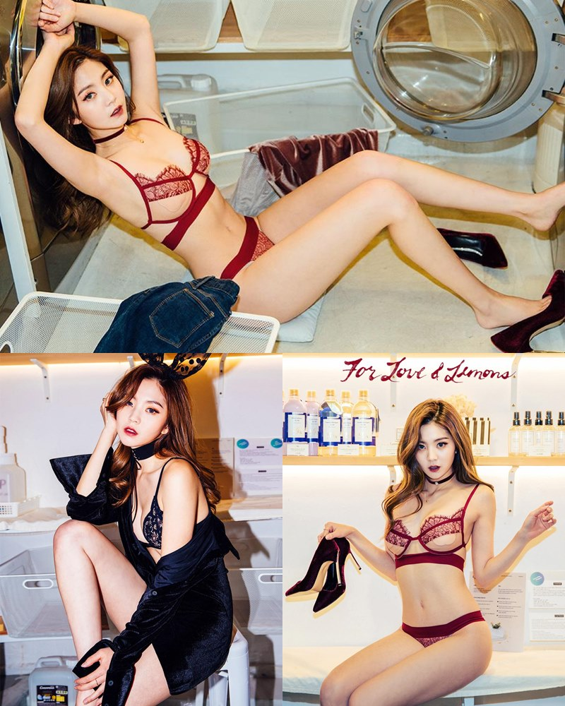 Image-Korean-Fashion-Model–Lee-Chae-Eun–For-Love-and-Lemons-Lingerie-Set-TruePic.net