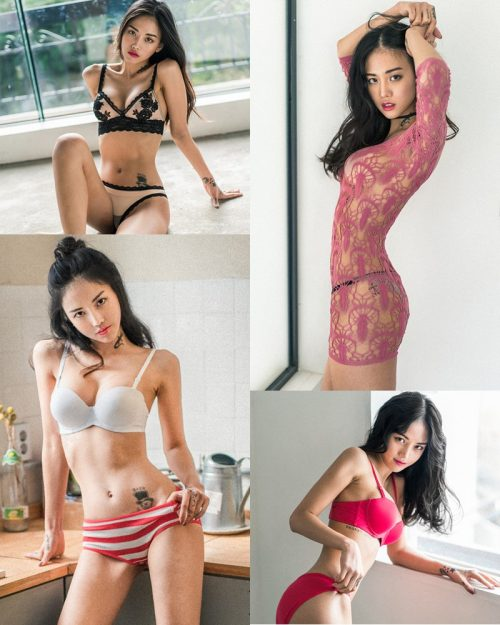 Image Korean Fashion Model – Baek Ye Jin – Sexy Lingerie Collection #3 - TruePic.net